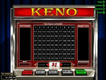 Lucky Red Keno