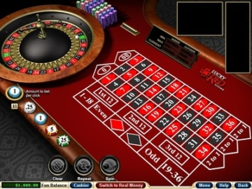 Lucky Red Roulette