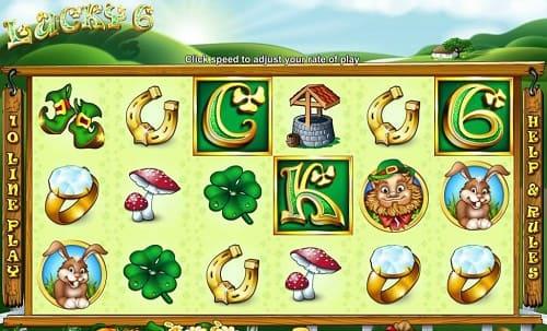 Lucky 6 Slot Reels