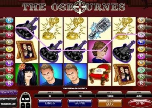Osbournes Slot
