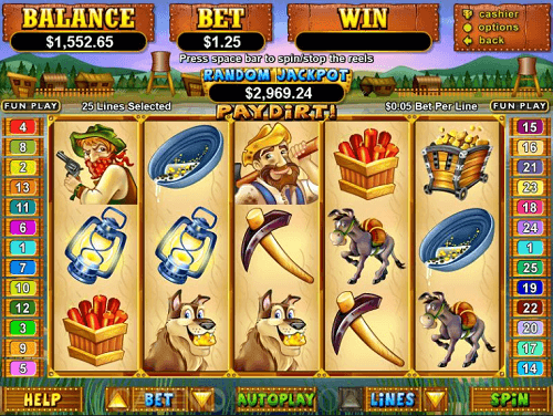 Pay Dirt Slot Game