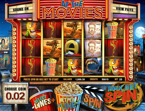 Play at the Movies Slot Online USA
