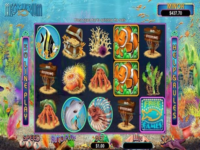 Realtime Gaming Slot Megaquarium