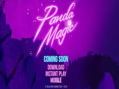 Panda Magic Slot from RTG Coming Soon