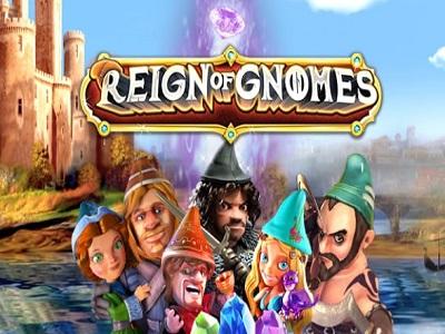 Reign of Gnomes Slot Banner