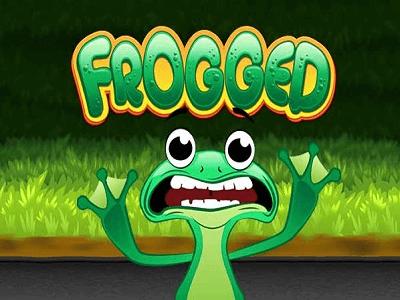 Rival Gaming Frogged Slot Banner