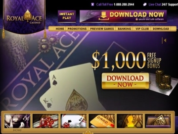 royal ace casino homepage