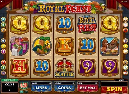 Royal Feast Slot Reels
