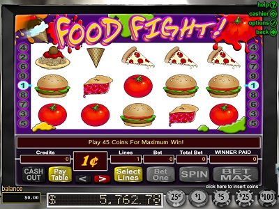 RTG Slot Food Fight Game