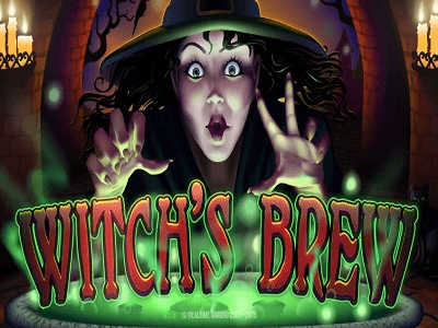RTG Witch's Brew Slot Banner