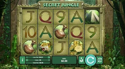 Secret Jungle Slot Reels