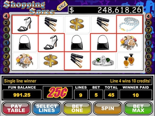 Shopping Spree Slot Online