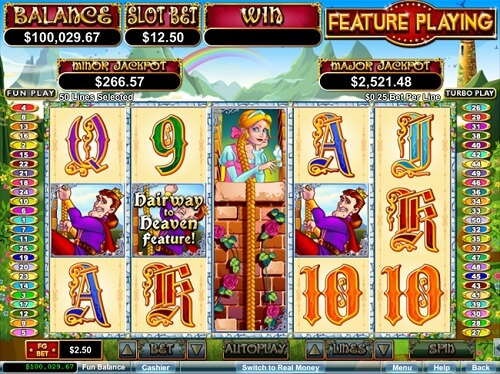 Slotastic Casino Released New Hairway to Heaven Video Slot
