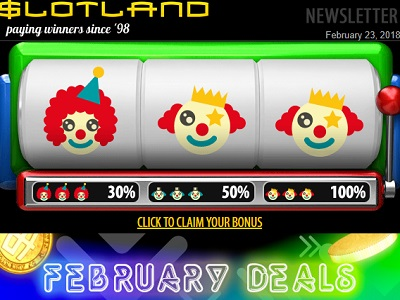 Slotland Bonus Codes 2021