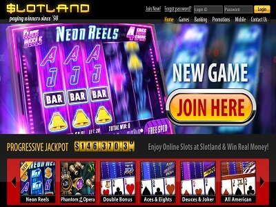 What's New at Slotland Online Casino?