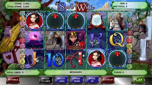 Snow White Slot Reels
