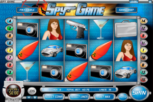 Spy Game Slot Reels