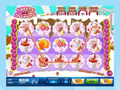 Sweet Insanity Slot Reels