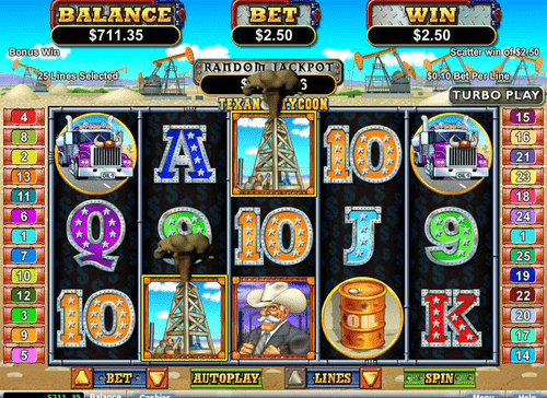 Texas Tycoon Online Slot Game