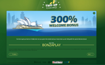 wo up casino welcome bonus