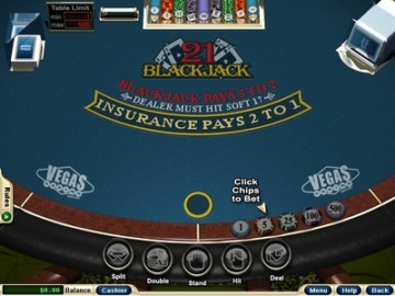 vegas casino blackjack