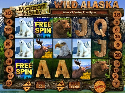 Wild Alaska Slot Game USA