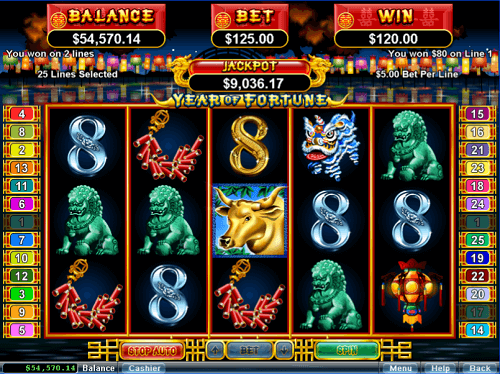 year of fortune slot review usa