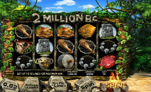 2 Million BC Slot Reels