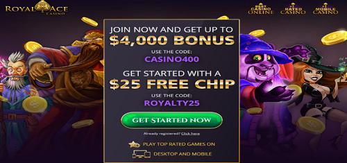 Royal Ace Casino Bonuses