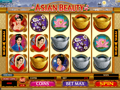 Asian Beauty Slot Reels