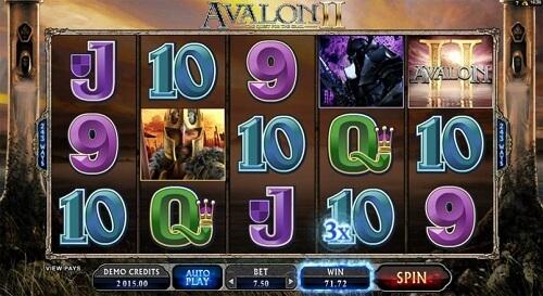 Avalon II Slot Reels