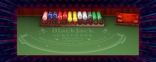 blackjack surrender rules usa
