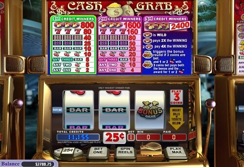 Cash Grab Slot Reels