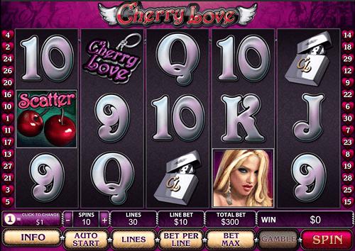 cherry love slot game