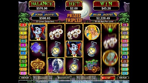 Count Spectacular Slot Reels