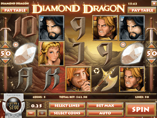 diamond dragon slot reels