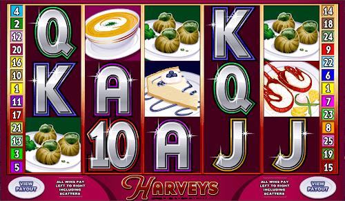 Harvey's Slot Reels