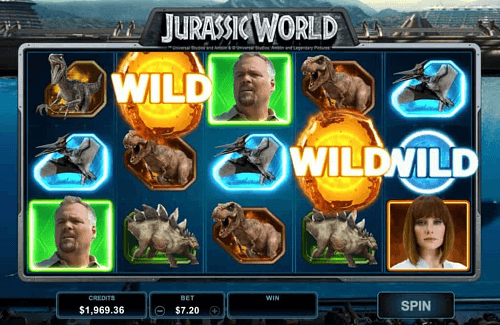 Jurassic World Slot Review Microgaming