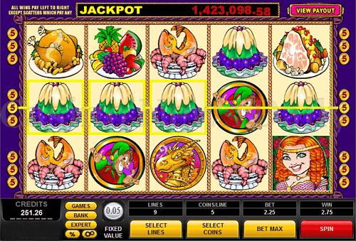 King Cashalot Slot Reels