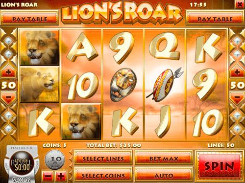 lions roar slot review