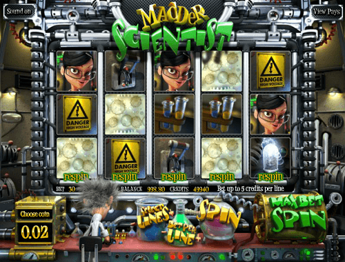 Madder Scientist Slot Game