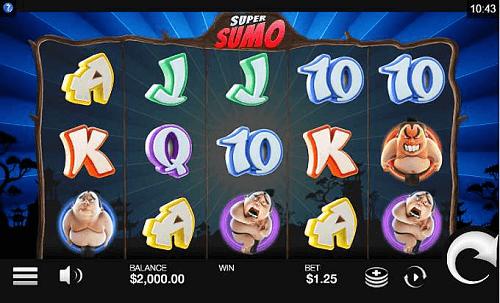 Super  Sumo Slot Reels