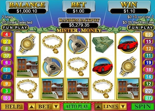 Mister Money Slot Reels