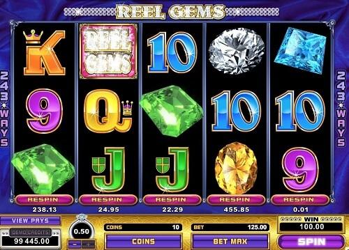 Reel Gems Slot Reels