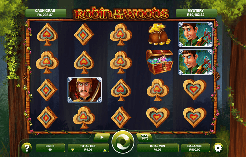robin in the woods slot reels