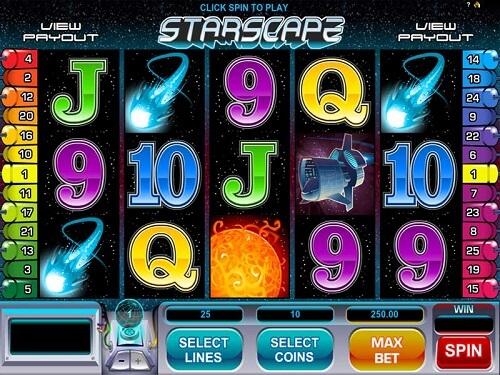 Starscape Slot Reels