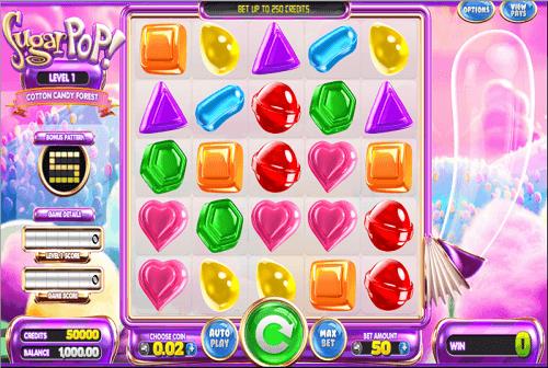 Sugar Pop Slot Reels