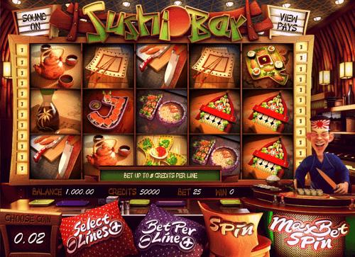 Sushi Bar Slot Reels