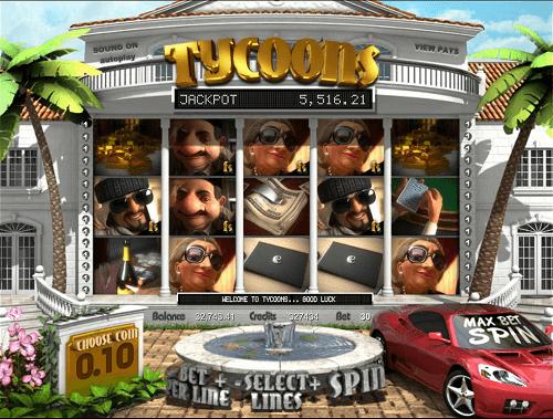 Tycoons Slot Reels