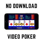 video poker no download usa